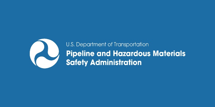 Pipeline and Hazardous Materials Safety Administration Logo