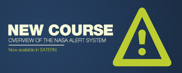 Overview of NASA Alert System Course