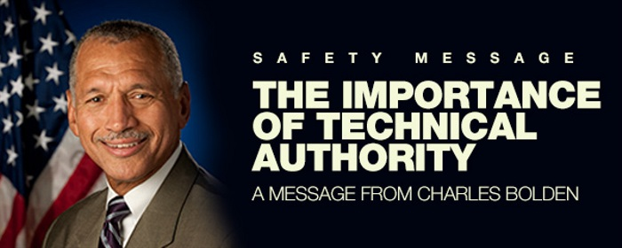 Safety Message: The Importance of Technical Authority