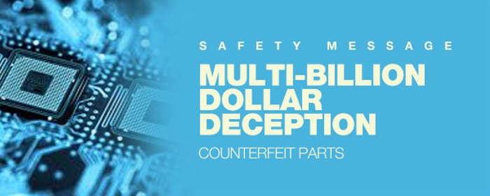 Safety Message: Counterfeit Parts