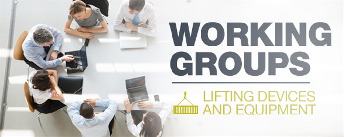 Working Groups: Lifting Devices and Equipment