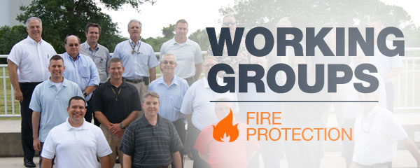 Working Groups: Fire Protection