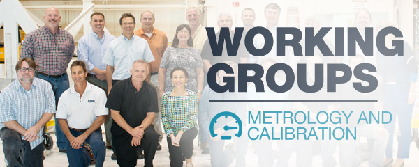 Working Groups: Metrology and Calibration