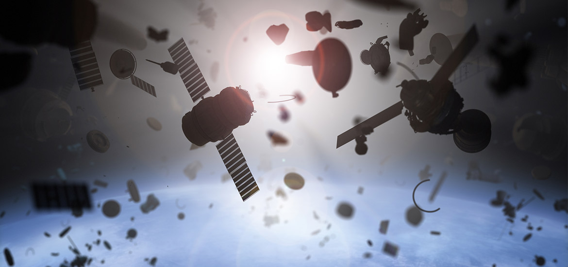 Orbital Debris and Meteoroid Depiction