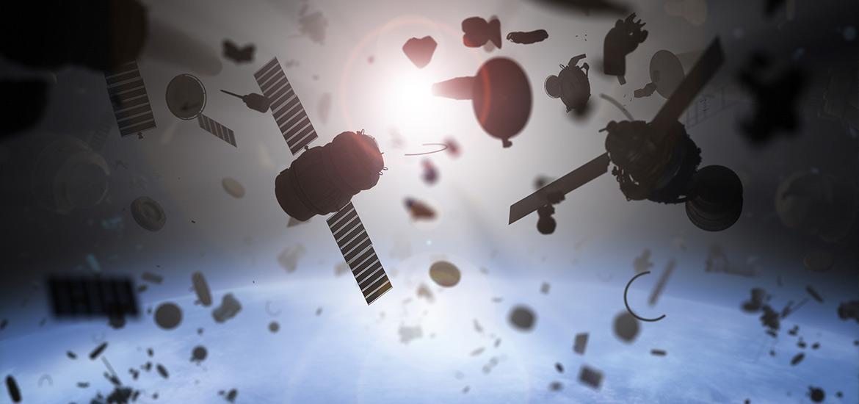 Picture depicting orbital debris