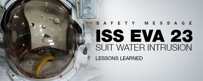 Safety Message: ISS EVA 23