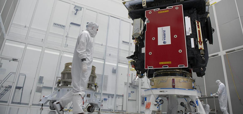 Solar Orbiter PLA Mate Integration