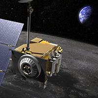 Lunar Reconnaissance Orbiter Artist Concept