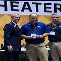 Langley UAS Operations Office receives first place award from AUVSI.