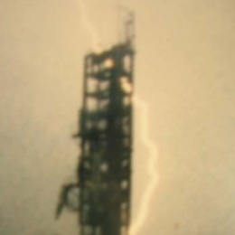 Lightning Strike Mishap 1987